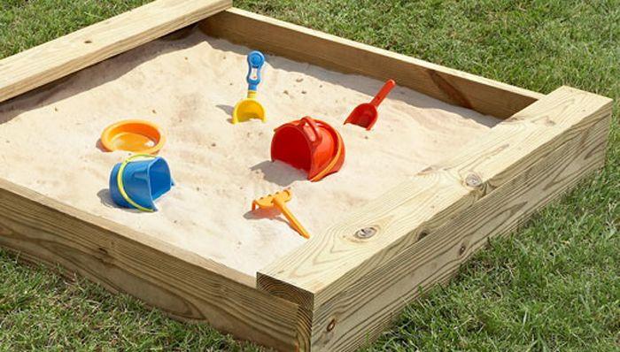 bac à sable pour enfant